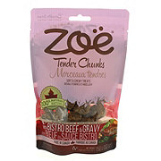 Zoe Tender Chunks Beef And Gravy Dog Treats