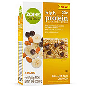 ZonePerfect High Protein Banana Nut Crunch Nutrition Bars