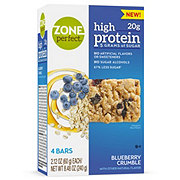 ZonePerfect High Protein Blueberry Crumble Nutrition Bars