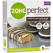 ZonePerfect Nutrition Bars Cookies & Cream Cookie Dough