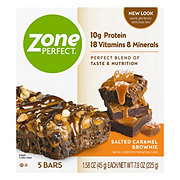 ZonePerfect Nutrition Bars Salted Caramel Brownie
