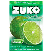 Zuko Lime Flavor Drink Mix