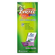 Zyrtec Children's Allergy Relief, Grape