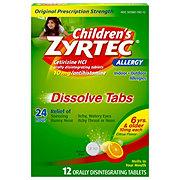 Zyrtec Children's Citrus Dissolve Tabs