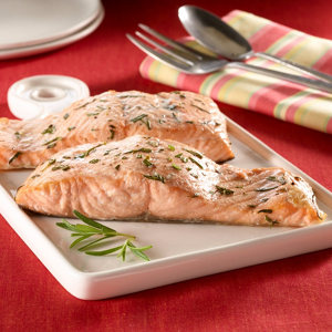 Baked salmon with rosemary rub recipe from heb ccuart Gallery