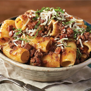 Prosciutto and red wine bolognese recipe from heb forumfinder Images