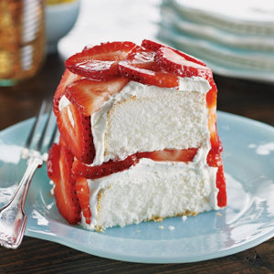 Strawberry angel food cake recipe from heb forumfinder Image collections