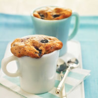 Blueberry Muffin in a Mug