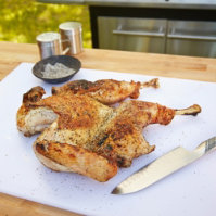 Brick Grilled Turkey