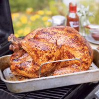 Grilled Texas BBQ Turkey