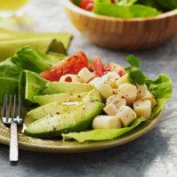 Hearts Of Palm, Tomato & Avocado Salad Recipe from H‑E‑B