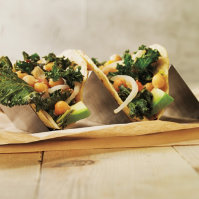 Kale and Chickpea Tacos