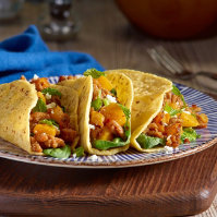 Morrockan Roll Taco with Butternut Squash