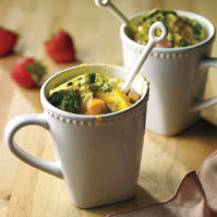Quiche in a Cup