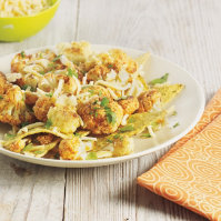 Roasted Cauliflower Nachos