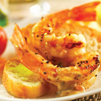 Stella Artois Grilled Shrimp Appetizer