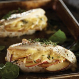 Apple and Gouda Stuffed Chicken Breast