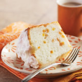 Apricot Lemon Angel Food Cake