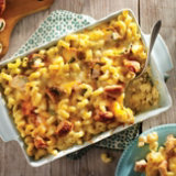 Armadillo Egg Mac and Cheese Casserole