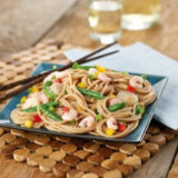 Asian Shrimp Noodle Salad