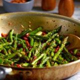 Asparagus & Sun-Dried Tomato Sauté