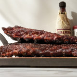 Austin Style Salt and Pepper Smoked Ribs