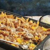 Baked Penne with Fennel, Sausage, and Butternut Squash
