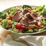 Beef & Barley Salad with Mushrooms