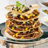 Beef Tortilla Stacks