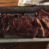 Beer Braised Grilled Ribs