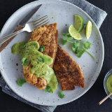 Blackened Rockfish with Avocado Aioli