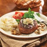 Blue Cheese and Bacon Sirloin Steak