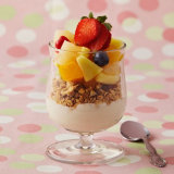 Breakfast Fruit And Cereal Parfait
