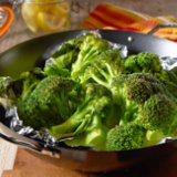 Broccoli Steamed On The Grill