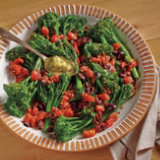 Broccolini with Tomatoes and Kalamata Olives