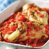 Bruschetta Chicken Roulade