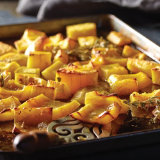 Butter and Rosemary Roasted Delicata Squash