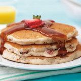 Buttermilk & Bacon Pancakes