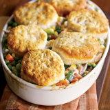 Buttermilk Biscuit Turkey Pot Pie