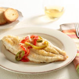 Cajun Catfish With Bell Peppers & Onion