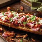 Carnivore French Bread Pizza