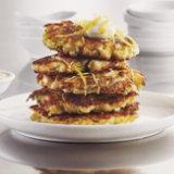 Cauliflower Zucchini Pancakes