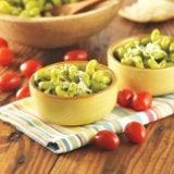 Cavatappi and Spinach Cilantro Pesto