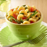 Cavatappi With Asparagus And Tomatoes