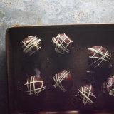 Cherry Pistachio Ice Cream Truffles