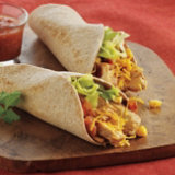 Chicken Cheese Taco Wraps