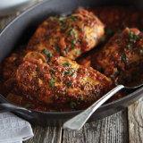 Chicken Two-Step Cacciatore