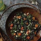 Chili Dusted Pumpkin & Feta Salad with Walnut Vinaigrette
