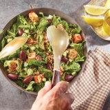 Chili Marinated Cubed Feta Salad