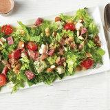 Chopped Salad with Za'atar & Tahini Vinaigrette